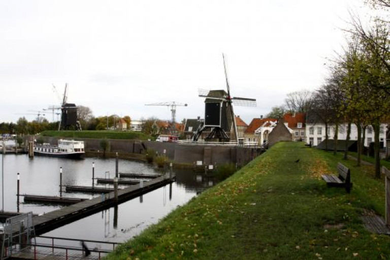 Heusden, molens en haven
