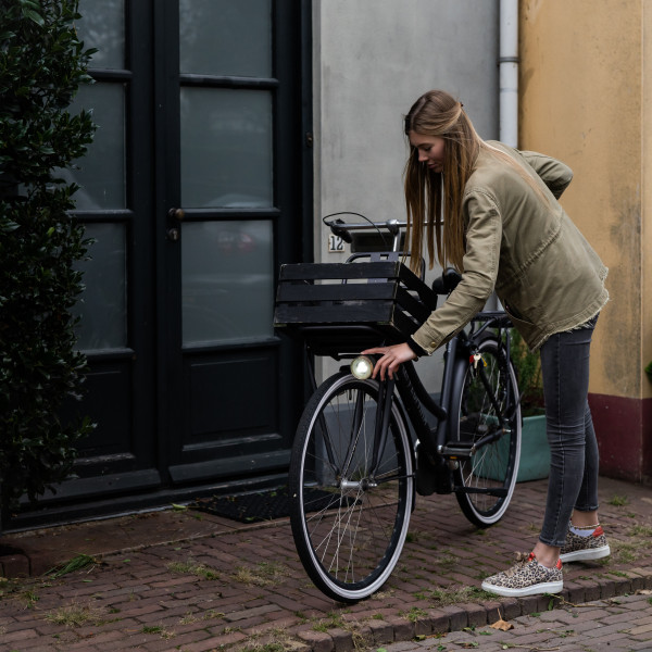 goede voorbeeld fietslicht